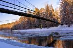 Mikieriai (Monkey) bridge in Anyksciai district
