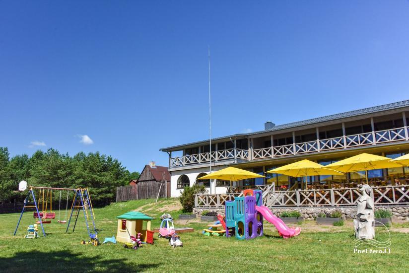 Cafe Kurėnų užeiga on the lake shore in Ukmergė district - 3