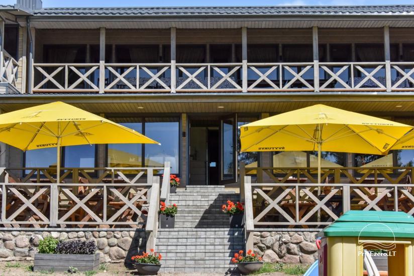 Cafe Kurėnų užeiga on the lake shore in Ukmergė district - 1