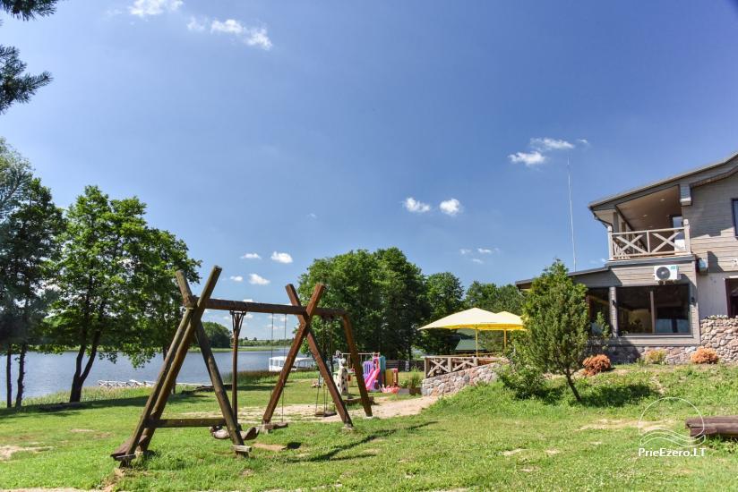Cafe Kurėnų užeiga on the lake shore in Ukmergė district - 5