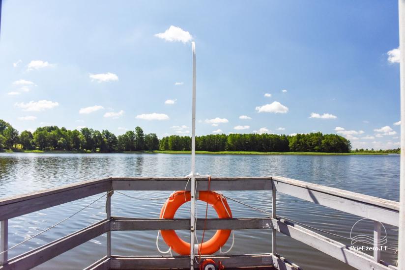 Kawiarnia Kurėnų užeiga na brzegu jeziora w rejonie Ukmergė - 24