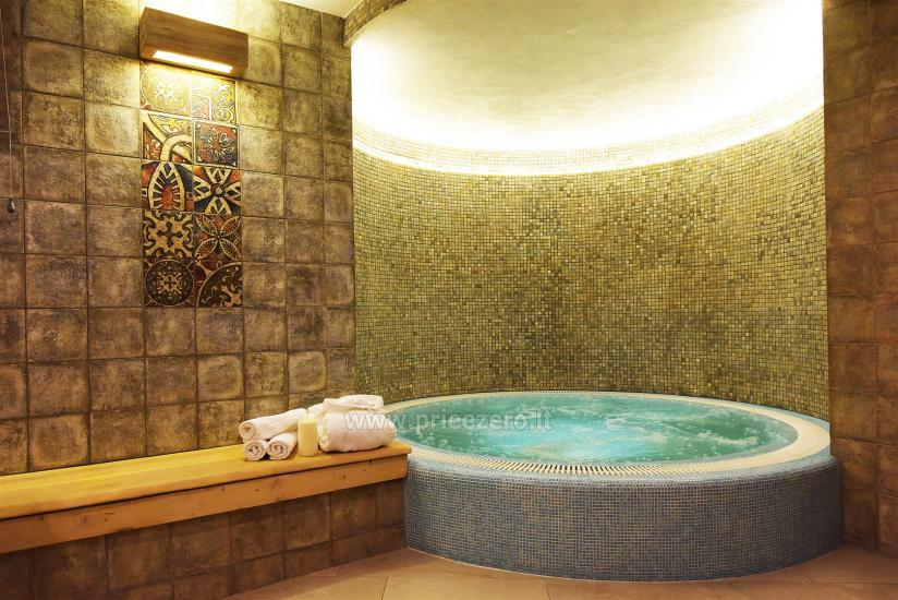 Jacuzzi Interior.Sauna And Jacuzzi In Klaipeda In Guest House Kubu
