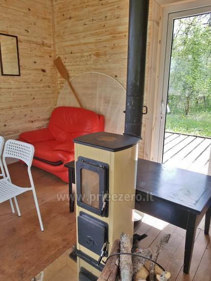 Haus zu vermieten in Utena für Angeln und romantischen Urlaub - 3