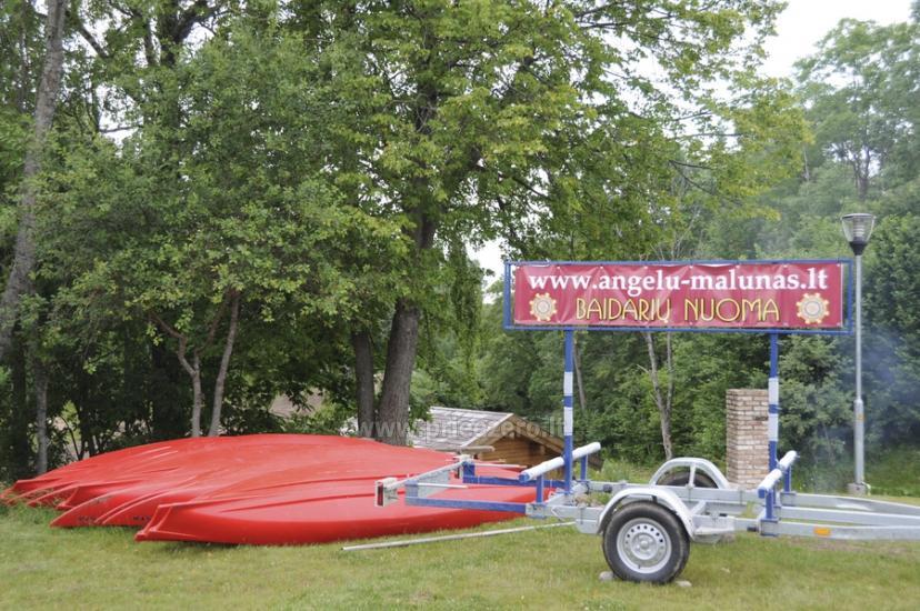 Прокат байдарок, походы по реке Вирвите - усадьба «Angelų malūnas» - 4