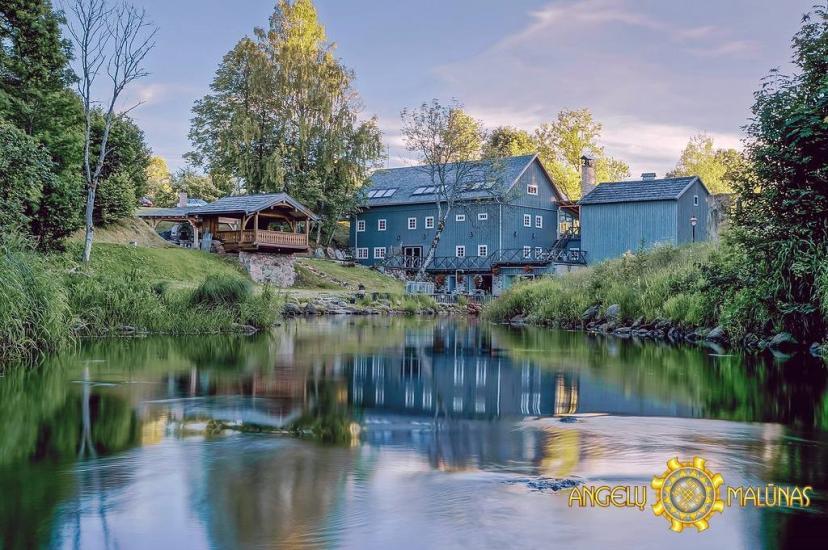 Wycieczki w młynie wodnym, park regionalny Varniai - Zagroda Angelų malūnas - 2