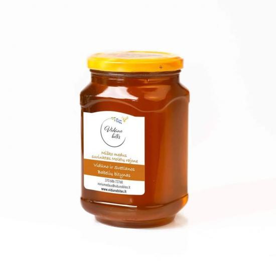 Литовский мед высочайшего качества «Vidūno bitės» - 3