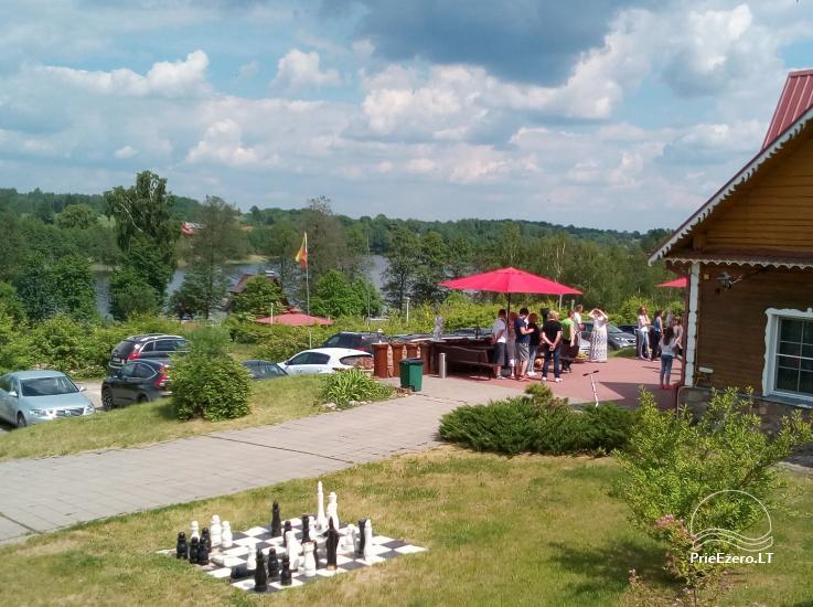 Усадьба на берегу озера для  мероприятий, семинаров,  летних лагерей 48 км от Вилнюса - 4