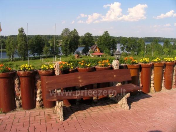 Усадьба на берегу озера для  мероприятий, семинаров,  летних лагерей 48 км от Вилнюса - 13