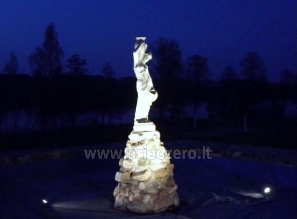 Усадьба на берегу озера для  мероприятий, семинаров,  летних лагерей 48 км от Вилнюса - 17