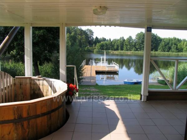 Усадьба на берегу озера для  мероприятий, семинаров,  летних лагерей 48 км от Вилнюса - 19