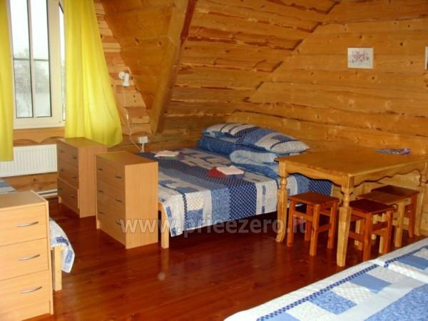Усадьба на берегу озера для  мероприятий, семинаров,  летних лагерей 48 км от Вилнюса - 23