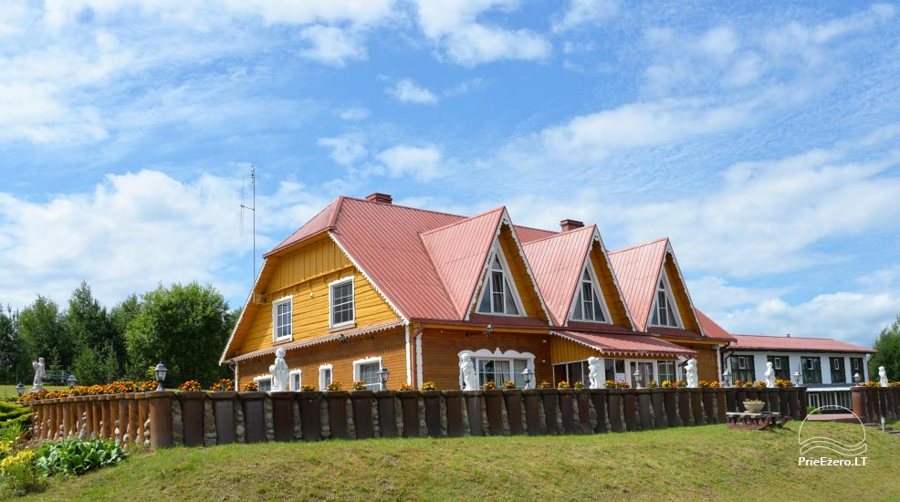 Homestead near lake for events, summer courses and training 48 km from Vilnius - 5
