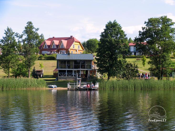 Усадьба на берегу озера для  мероприятий, семинаров,  летних лагерей 48 км от Вилнюса - 3