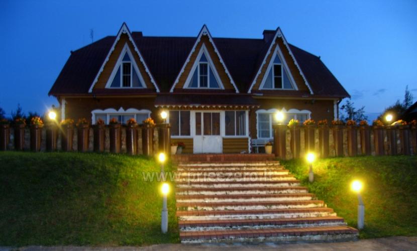 Усадьба на берегу озера для  мероприятий, семинаров,  летних лагерей 48 км от Вилнюса - 1
