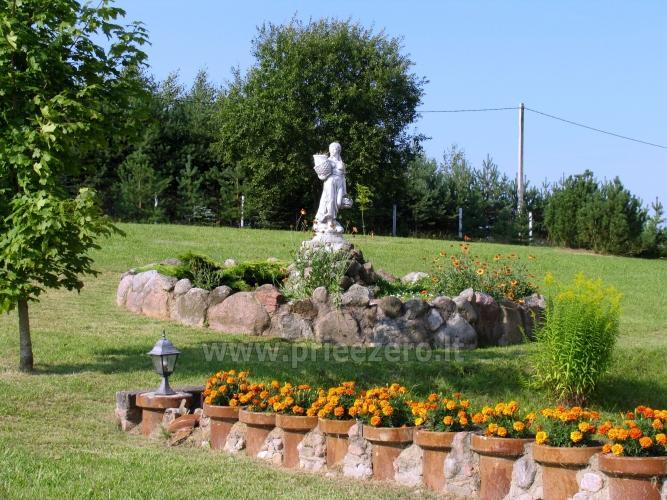 Усадьба на берегу озера для  мероприятий, семинаров,  летних лагерей 48 км от Вилнюса - 15