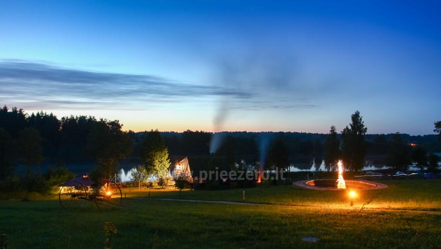 Усадьба на берегу озера для  мероприятий, семинаров,  летних лагерей 48 км от Вилнюса - 2