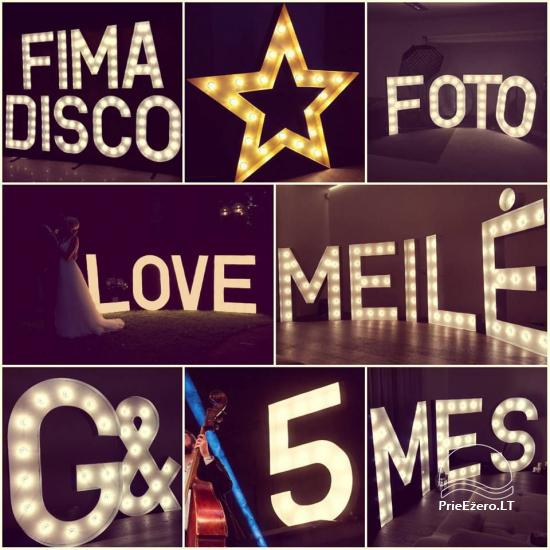 Luminous Letters For Rent - RIO Arena - 1