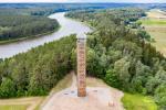 Observation tower in Birstonas