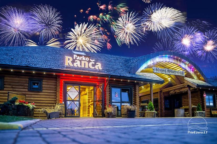New Year near Palanga in recreation and health center Atostogu parkas - 11