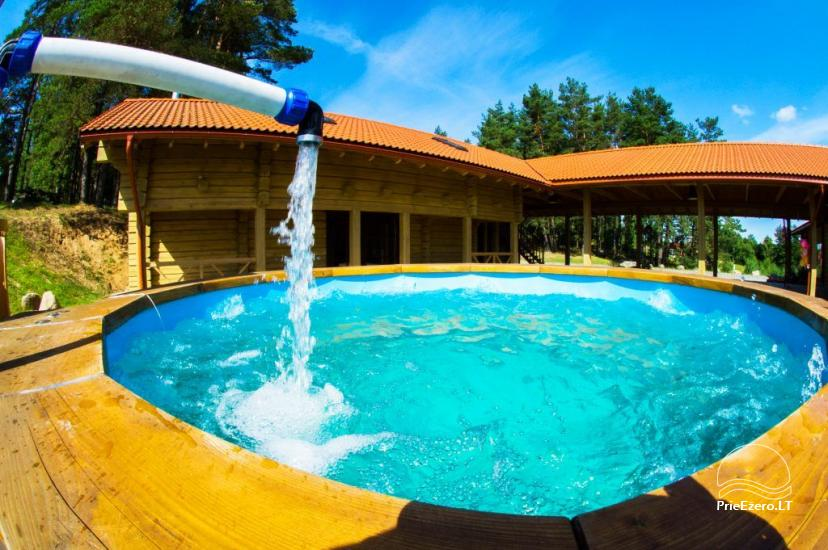 Sauna for rent with Jacuzzi in homestead Trakų Kompleksas - 2