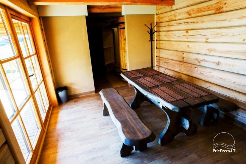 Sauna for rent with Jacuzzi in homestead Trakų Kompleksas - 4
