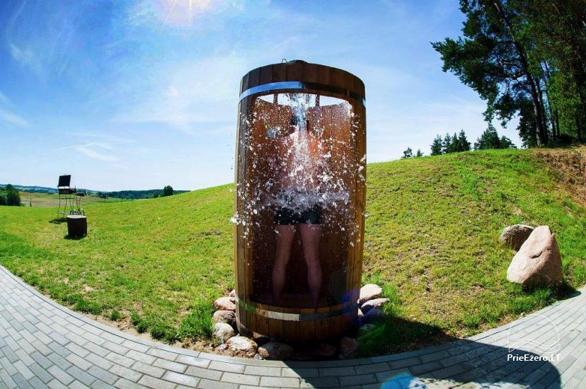 Sauna for rent with Jacuzzi in homestead Trakų Kompleksas - 5