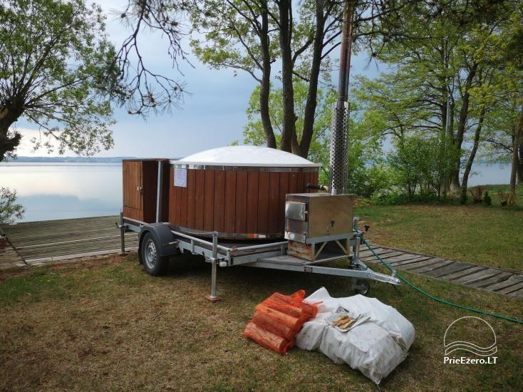 Kayak, bath rental on the shore of the lake Ančia - 2