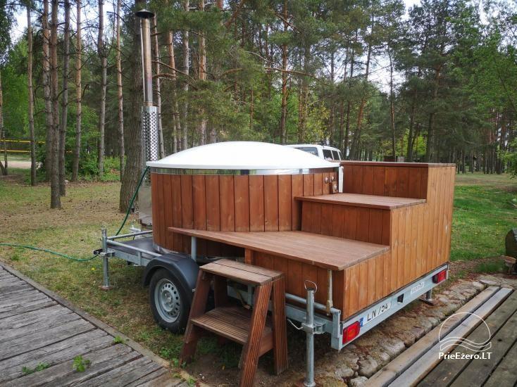 Kayak, bath rental on the shore of the lake Ančia - 3