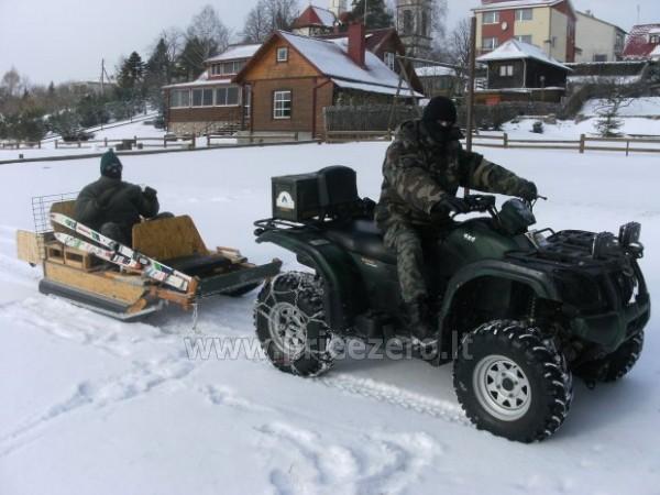 Wedkarstwo, lodzie, kajaki, rozrywki zimowe, gospodarstwo Antano Bielinio sodyba - 1