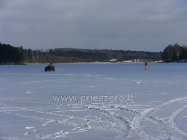 Wedkarstwo, lodzie, kajaki, rozrywki zimowe, gospodarstwo Antano Bielinio sodyba - 2