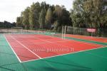 Теннисный корт, баскетбольная площадка и другие развлечения в Kernaves bajoryne