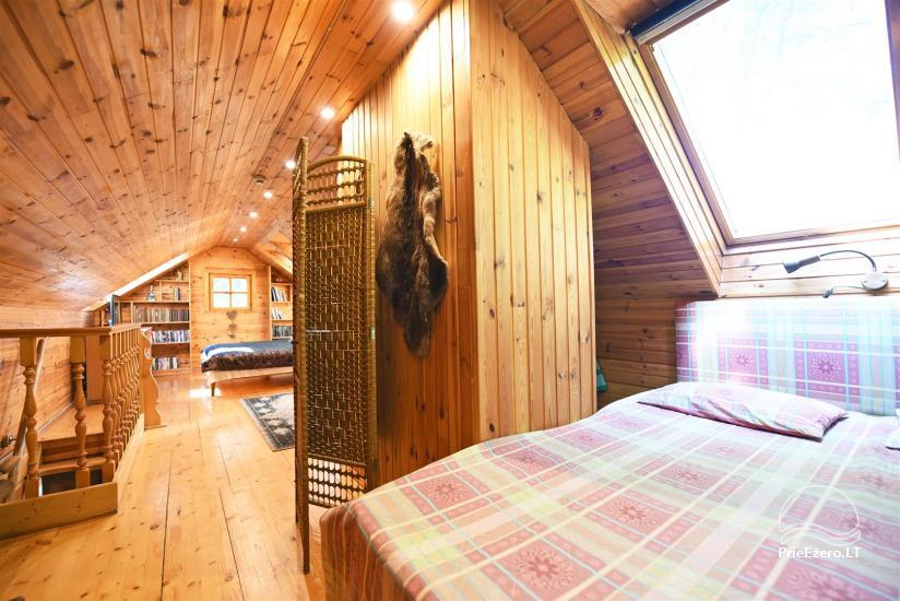 Honig Badehaus am See in Trakai - 16