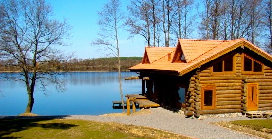 Sauna in countryside tourism complex in Trakai region on the shore of the lake Margio krantas - 2