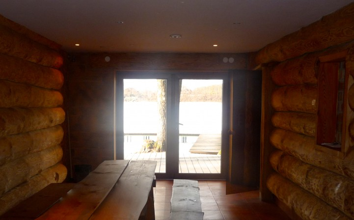 Sauna in countryside tourism complex in Trakai region on the shore of the lake Margio krantas - 13