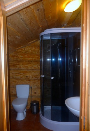 Sauna in countryside tourism complex in Trakai region on the shore of the lake Margio krantas - 14