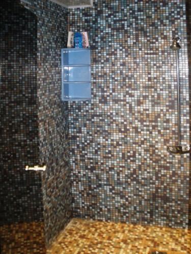 Bathhouse, hot water tub, pond in Homestead Zinenai 28km from Siauliai - 7