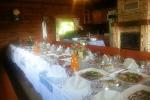 Banquet hall in Homestead in Radviliskis region Zinenai