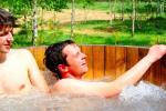 Sauna in leisure and business club 'Aerodream'