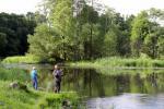 Landtourismus in Utena Bezirk am Fluss Sventoji Degesine - 5
