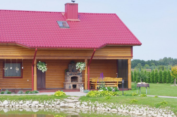 Усадьба с баней, банкетным залом, комнатами в Друскининкае - 2