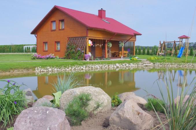 Усадьба с баней, банкетным залом, комнатами в Друскининкае - 1