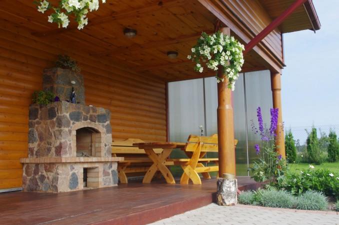 Усадьба с баней, банкетным залом, комнатами в Друскининкае - 5