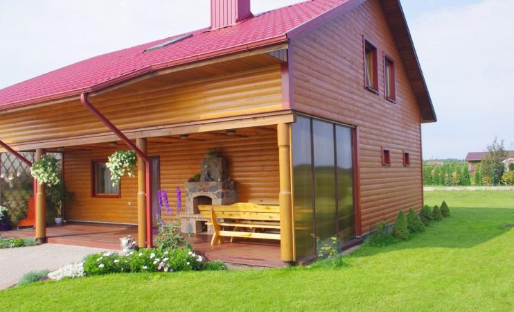 Усадьба с баней, банкетным залом, комнатами в Друскининкае - 10