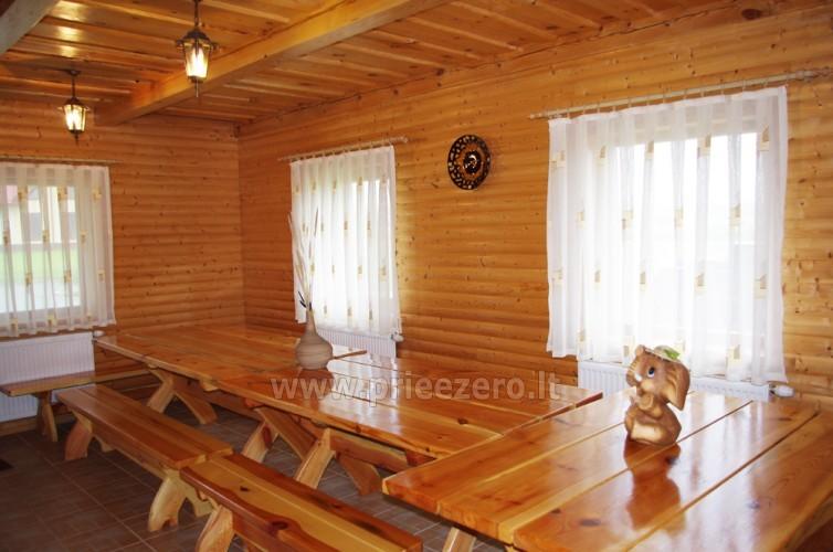 Усадьба с баней, банкетным залом, комнатами в Друскининкае - 13