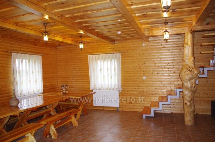Усадьба с баней, банкетным залом, комнатами в Друскининкае - 15