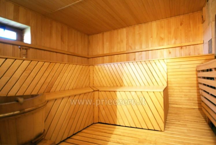 Усадьба с баней, банкетным залом, комнатами в Друскининкае - 16