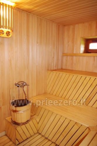 Усадьба с баней, банкетным залом, комнатами в Друскининкае - 17