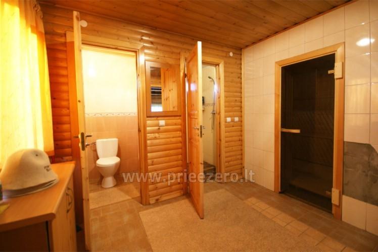 Усадьба с баней, банкетным залом, комнатами в Друскининкае - 18