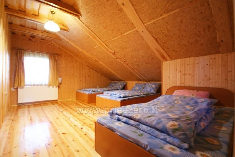 Усадьба с баней, банкетным залом, комнатами в Друскининкае - 19