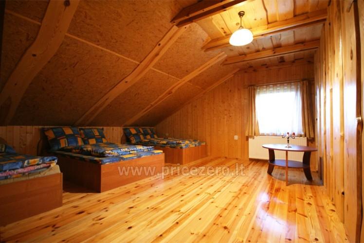 Усадьба с баней, банкетным залом, комнатами в Друскининкае - 20
